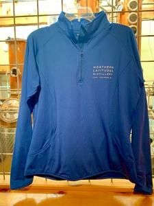 SPORT PULLOVER - WOMAN'S BLUE 1/2 ZIPPER  $45.95-$49.95
